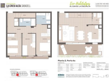 Pisos en venta con terraza en Sabadell