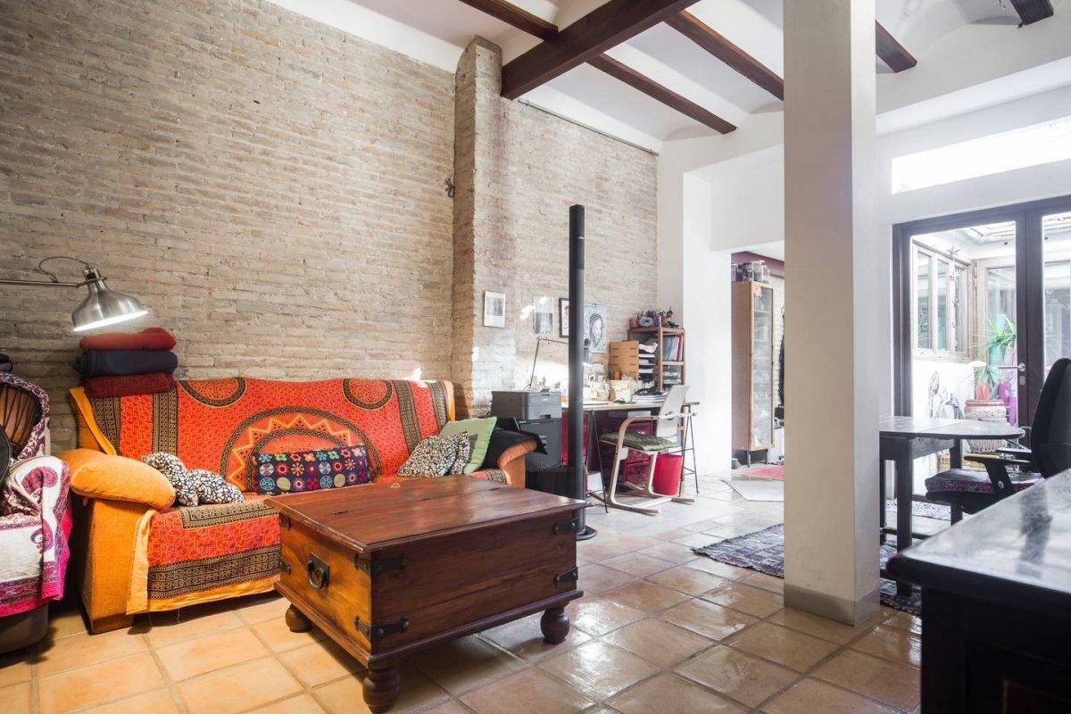 Casa  Valencia ,benimaclet. Gran ocasión de venta!!!!!casa de pueblo en planta baja -zona be