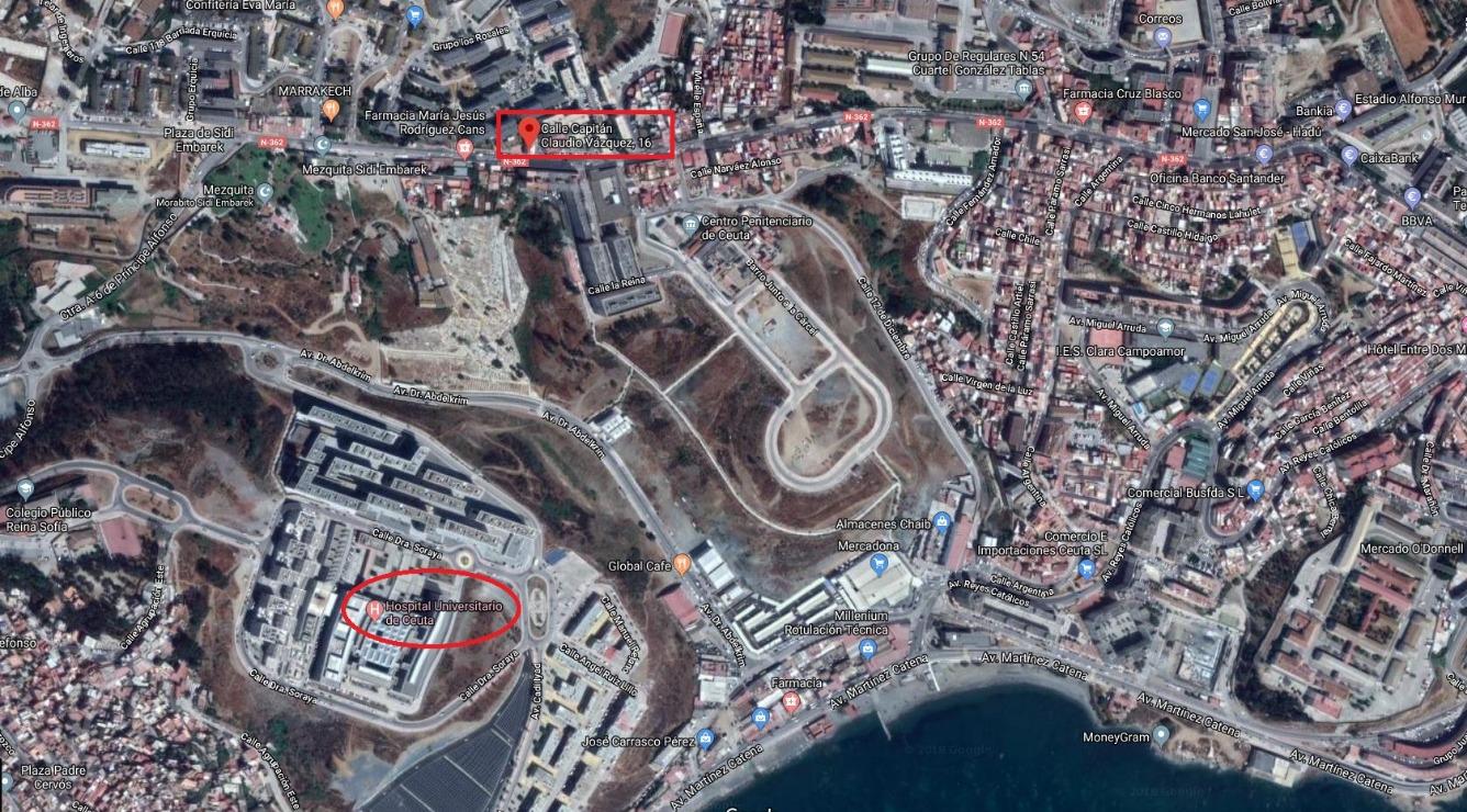 Piso en venta con 99 m2, 3 dormitorios  en Parques de Ceuta (Ceuta)