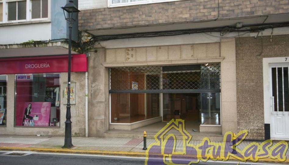 Foto 1 de Local de alquiler en Avenida Barrié de la Maza, 12 Sada (A Coruña), A Coruña