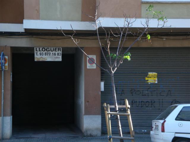Alquiler Parking coche  Calle jacint verdaguer, 12
