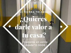 Trasteros en venta con acceso 24h todos los días del año en Madrid Capital