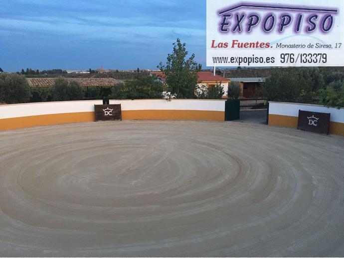 Foto 1 de Chalet en Alagón, Finca Recreo Con Plaza De Toros / Alagón