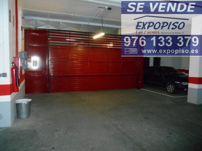 Foto 9 de Garaje en Garaje Y Trastero Avda Compromiso De Caspe 84 / Las Fuentes,  Zaragoza Capital