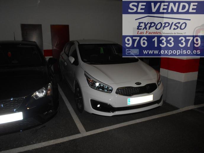 Foto 1 de Garaje en Garaje Y Trastero Avda Compromiso De Caspe 84 / Las Fuentes,  Zaragoza Capital