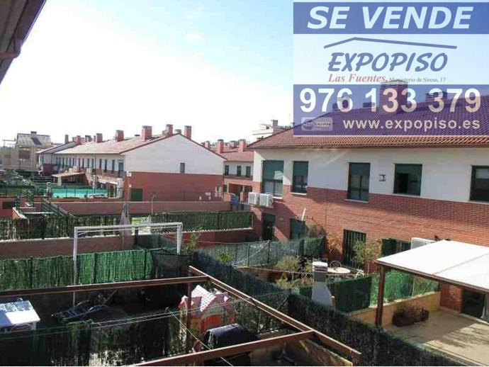 Foto 1 de Casa adosada en Adosado- Santa Isabel   Hipoteca 100%100 / Santa Isabel - Movera,  Zaragoza Capital