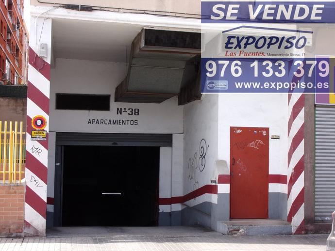 Foto 5 de Garaje en Avda Compromiso De Caspe Garaje Y Trastero / Las Fuentes,  Zaragoza Capital