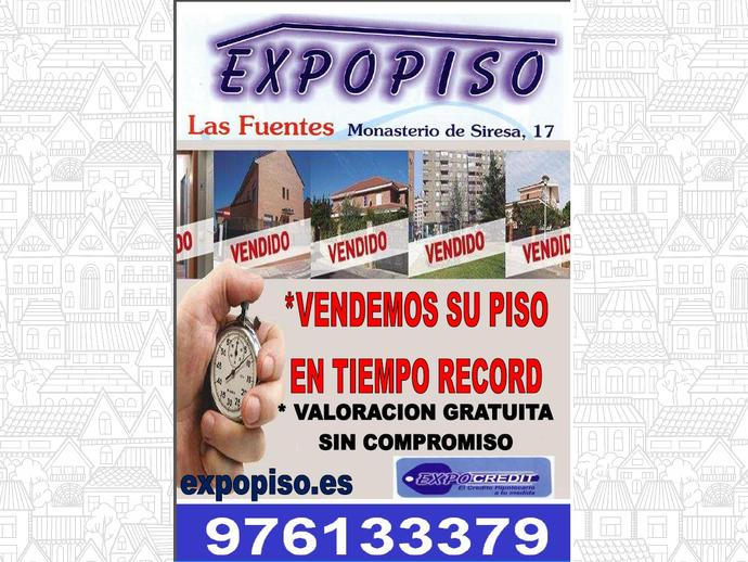 Foto 11 de Piso en Las Fuentes Mercadona 2Hab+Salón,  Calefacción. / Las Fuentes,  Zaragoza Capital