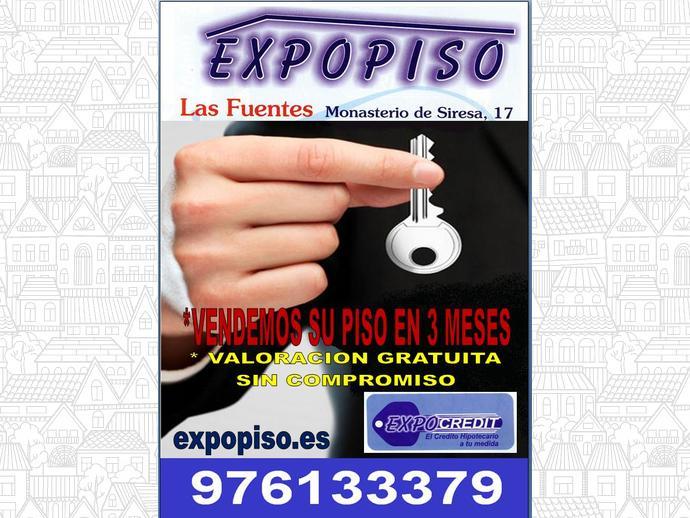 Foto 10 de Piso en Las Fuentes  3+S,Ascensor,Exterior / Las Fuentes,  Zaragoza Capital