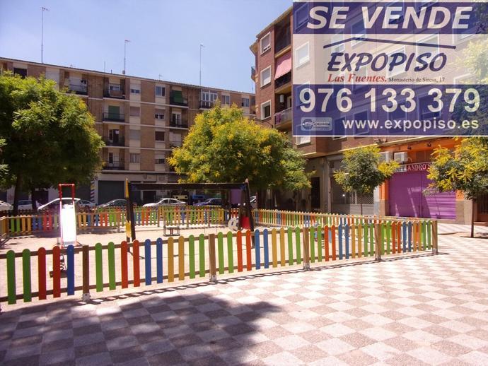 Foto 1 de Piso en Las Fuentes Mercadona, 3+S,Ascensor,Calefacción / Las Fuentes,  Zaragoza Capital