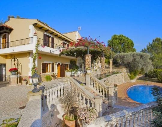 Lloguer Casa  Tramuntana, zona de - Esporles. Chalet con vistas a la bahía de palma en ses rotgetes Esporles