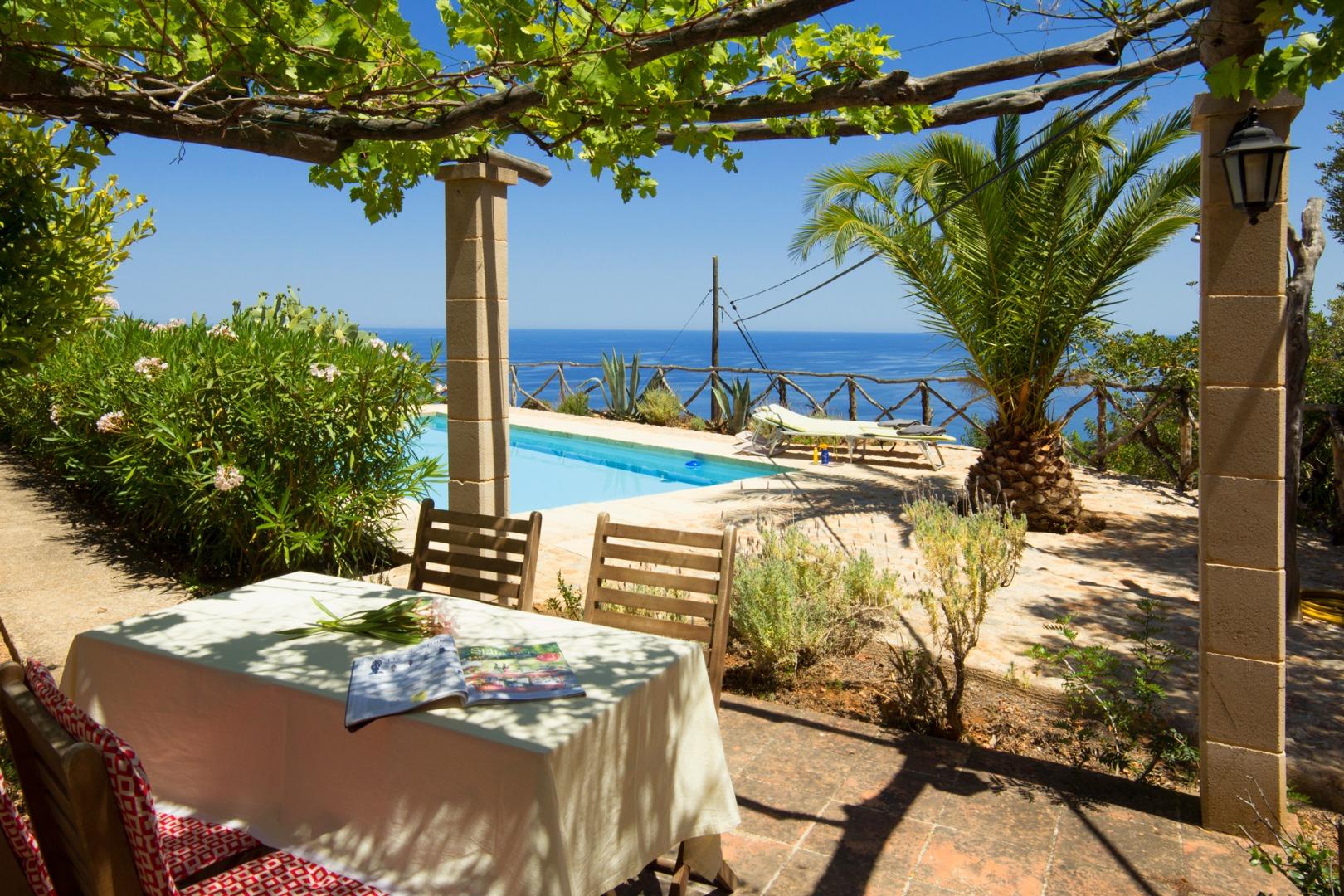 Affitto stagionale Casa  Camí dels rafals. Fantástica finca en la montaña con panorámicas vistas del mar