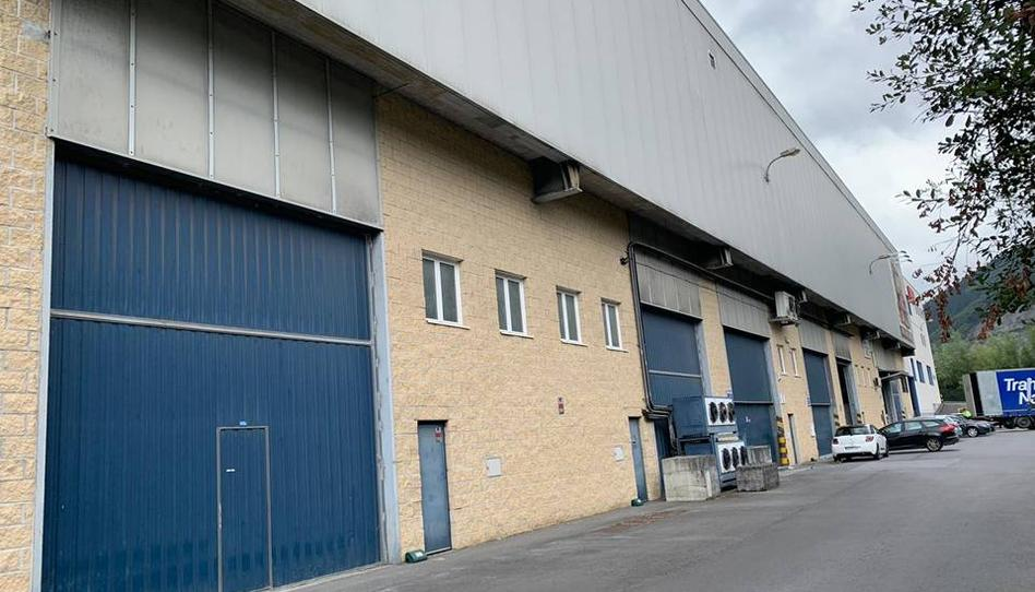 Foto 1 de Nave industrial en venta en Zabala Orozko, Bizkaia