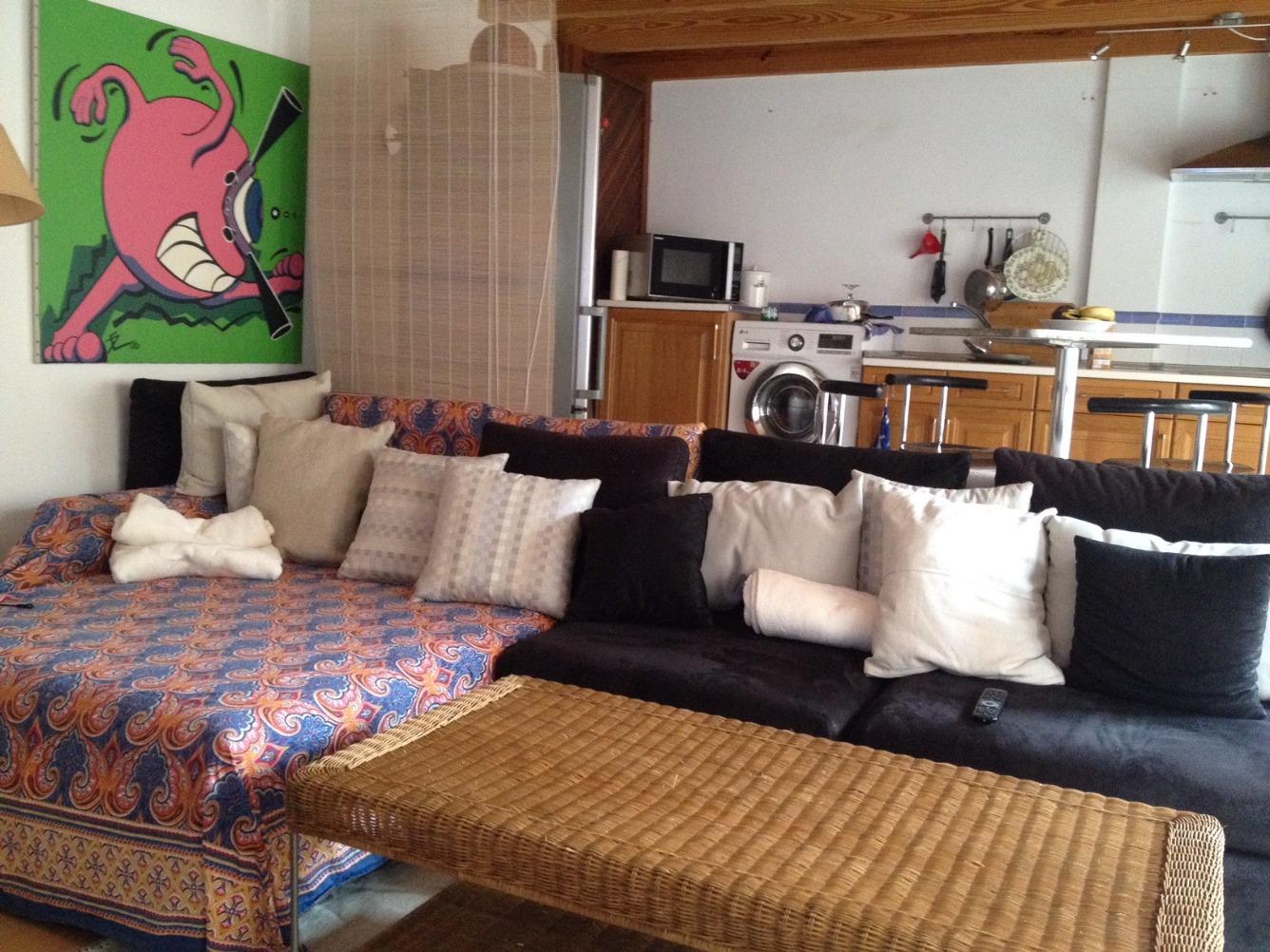 Piso  Sa pobla, zona de - selva. Maravilloso apartamento en antiguo edificio de piedra, totalment