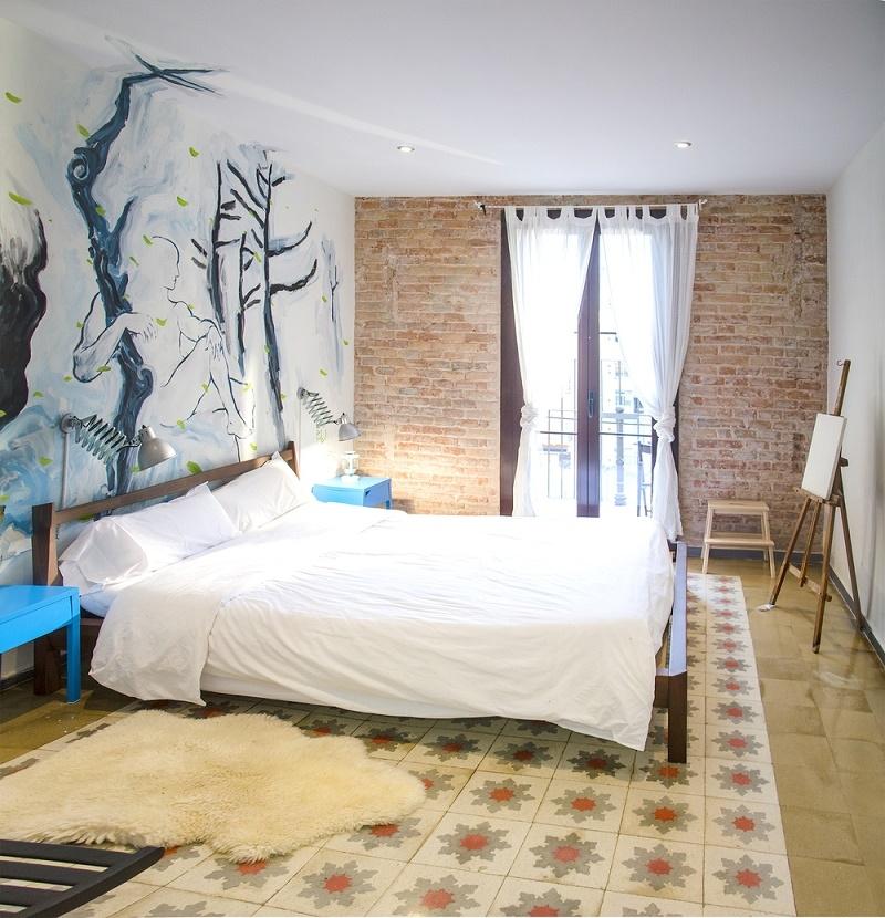 Lloguer Pis  Calle carrer d'aribau. Catalán de estilo apartamento con decoración vintage en alquiler