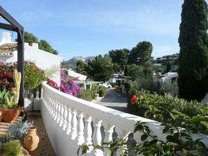 Chalets en venta con terraza en Dénia