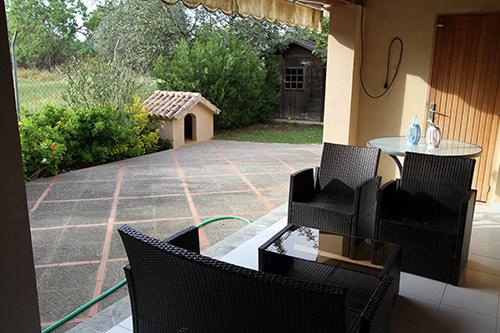 Rental House  Migjorn - santanyí, zona de - Campos. Casa unifamiliar con porche y jardín en sa ràpita en alquiler
