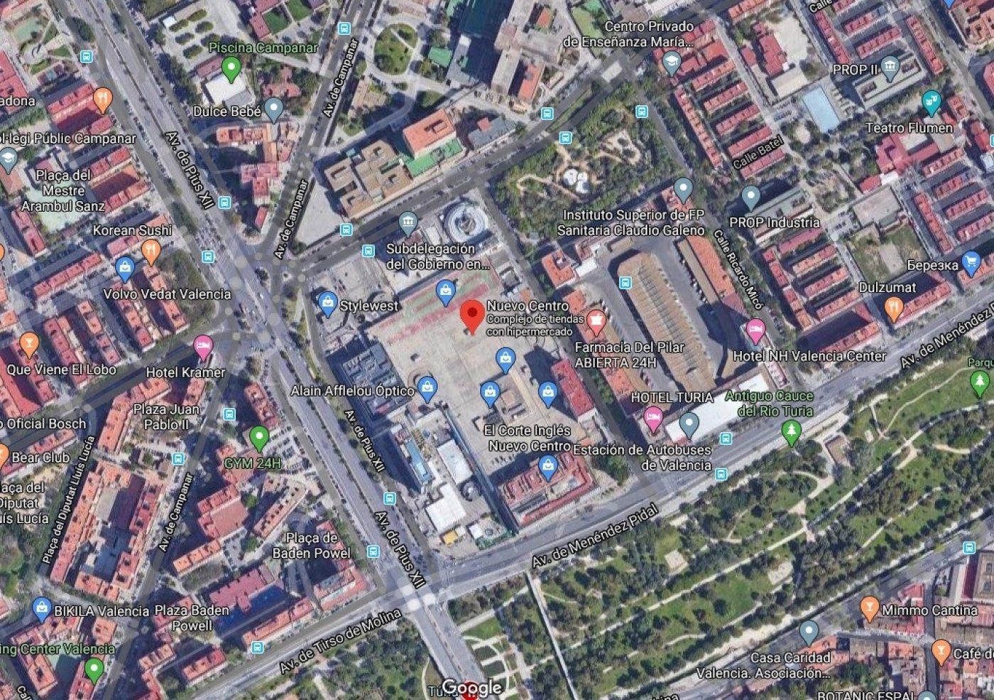Solar urbano  Valencia ,campanar. Solar en distrito de campanar ( valencia capital ) para inversor