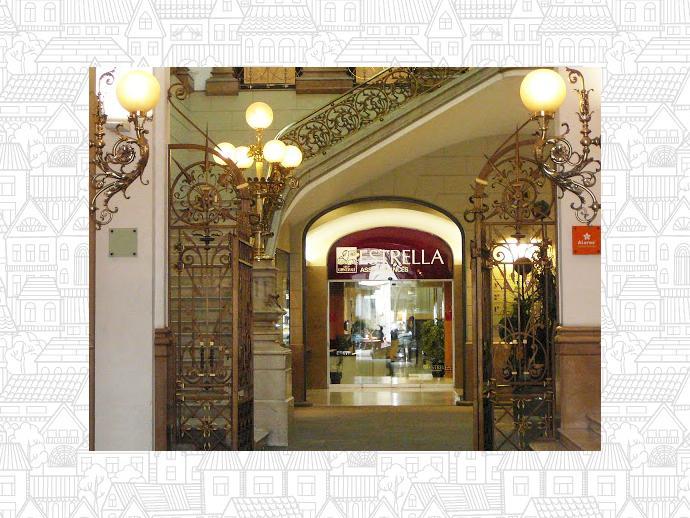 Oficina en barcelona capital en eixample en rambla for Oficina caixa catalunya barcelona