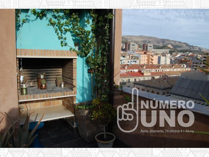 Foto 2 de Ático en  Alameda / Alcoy / Alcoi