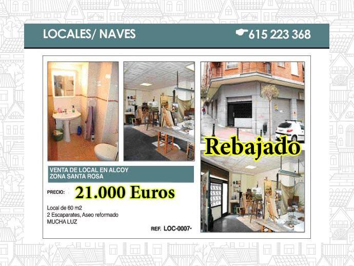 Foto 1 de Local comercial en Alcoy, Zona Santa Rosa / Alcoy / Alcoi