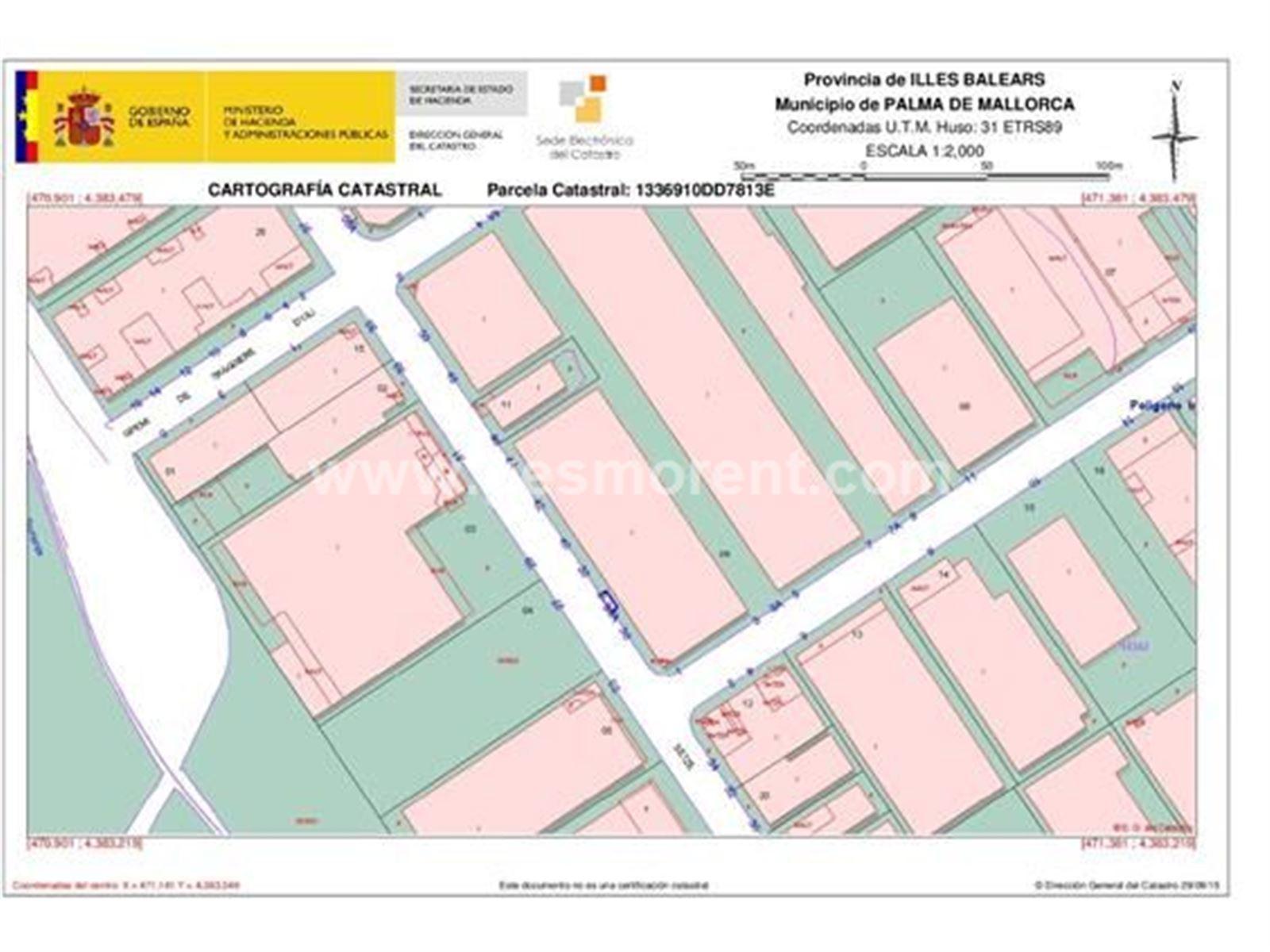 Alquiler Nave industrial  Palma de mallorca - polígono son castello. Nave industrial en poligono son castello.