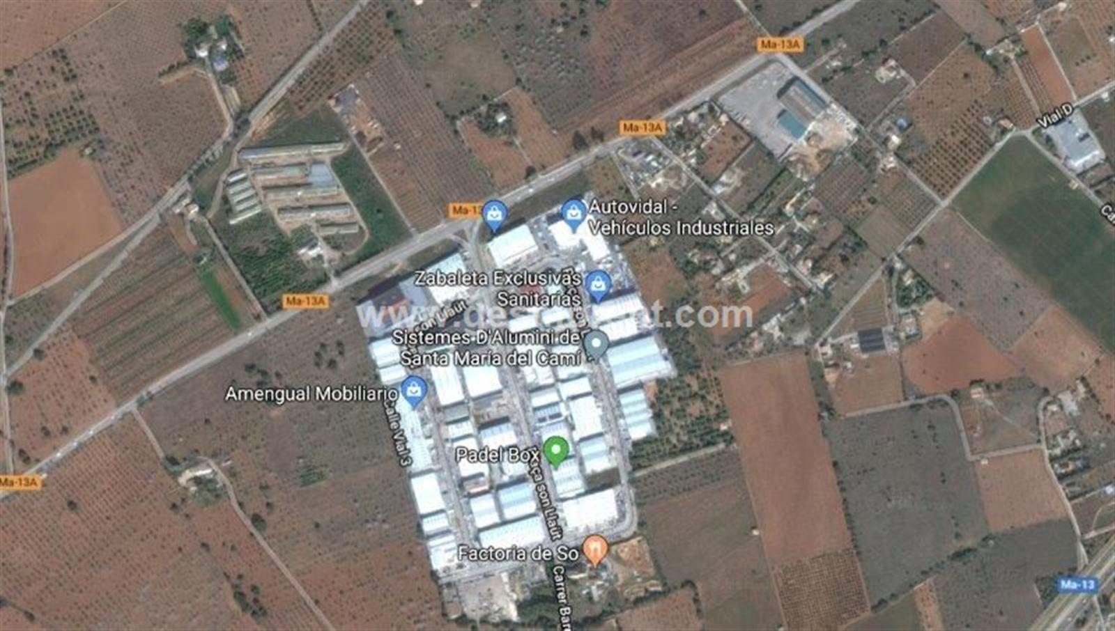 Nau industrial  Santa maria - poligono son llaut. Nave de 250m2 aprox. en polígono son llaüt