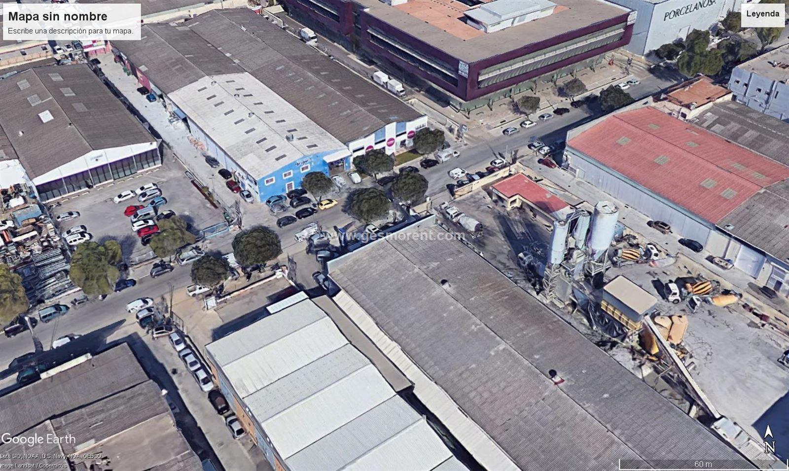 Alquiler Nave industrial  Palma de mallorca - polígono son castello. Se alquila nave industrial con zona de tienda