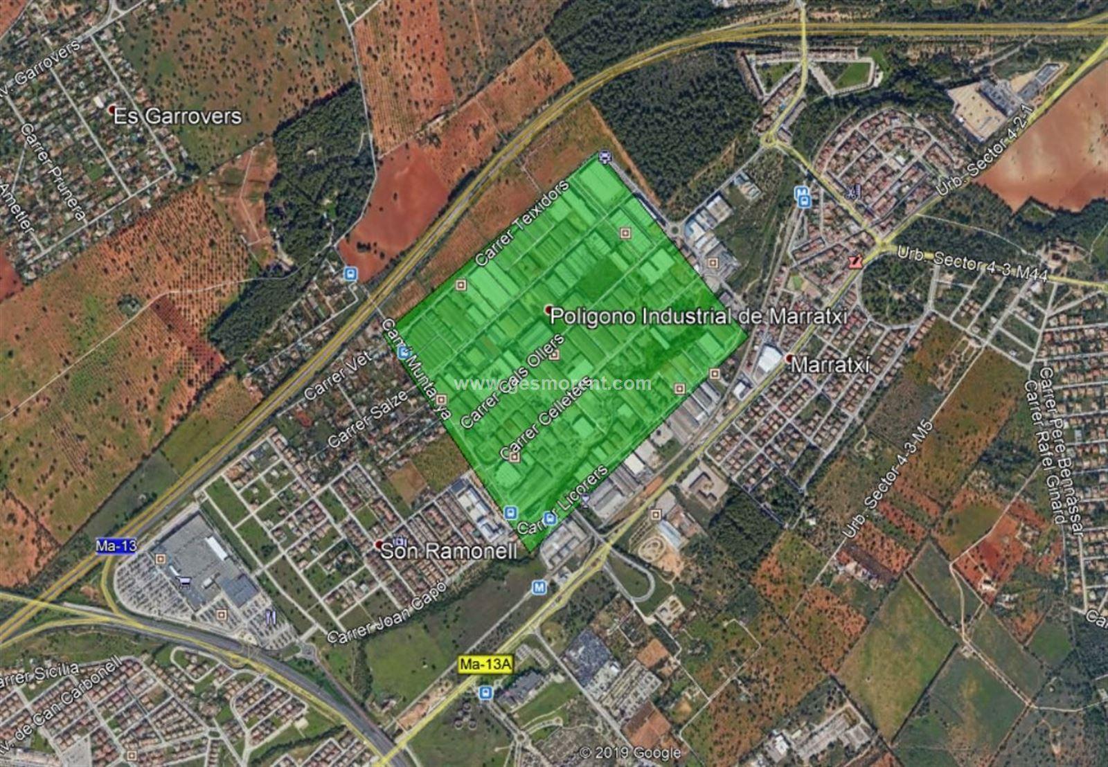 Location Bâtiment à usage industriel  Marratxi - polígono marratxi. Nave industrial en alquiler