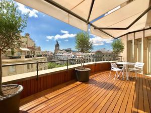 Viviendas de alquiler con opción a compra con terraza en Barcelona Capital