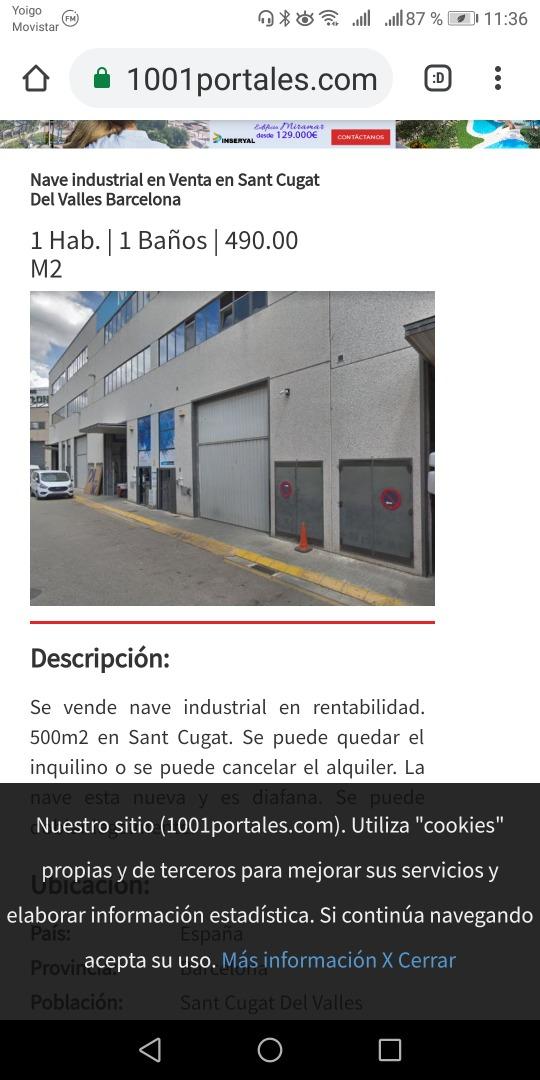Bâtiment à usage industriel  Calle berneda