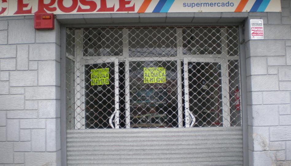 Foto 1 de Local de alquiler en Carretera Txipio Plentzia, Bizkaia