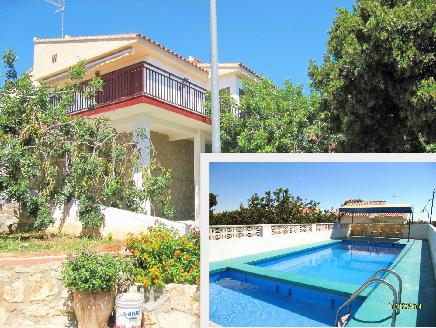 Lloguer de temporada Casa  Peñíscola / peníscola - las atalayas - urmi - cerro de mar. Amplio, 3 habit. dos baños, piscina et internet.