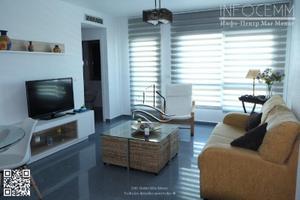 Apartamento en Alquiler en Vacacional, Apartamento a Estrenar, 1ra Línea Mediterráneo (Precio Semana) / La Manga del Mar Menor