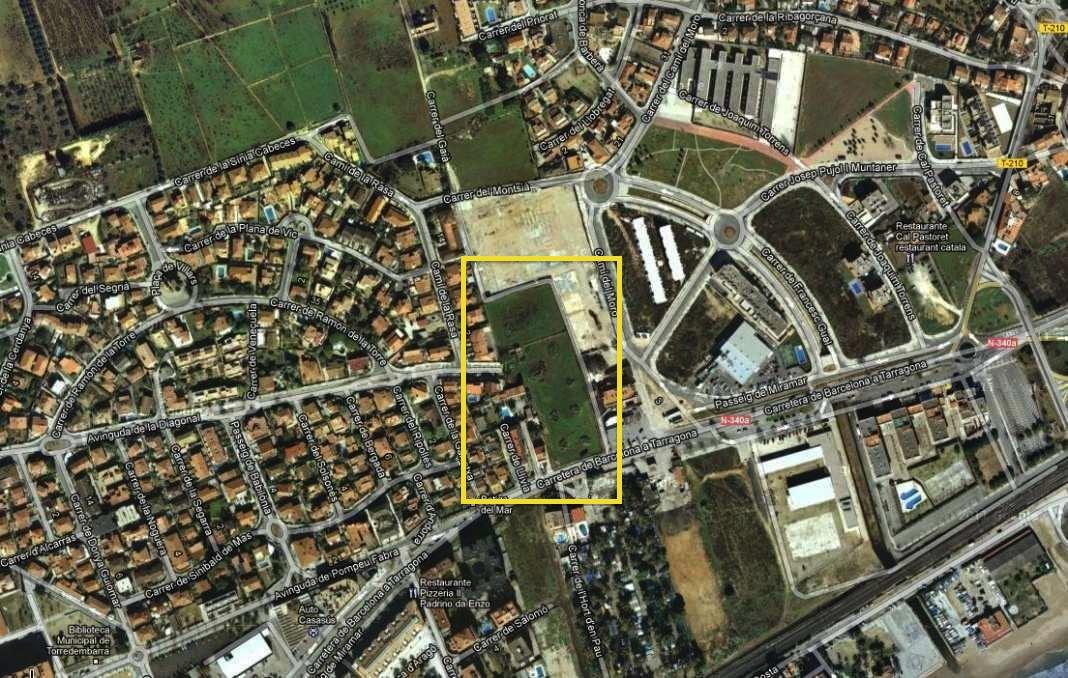 Solar urbano  Avenida diagonal