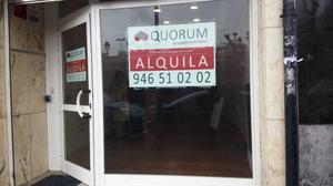 Local comercial en Alquiler en Bilbao ,abando / Abando