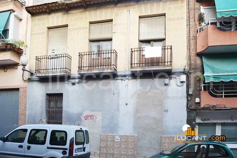 Solar urbano  Alicante ,carolinas bajas